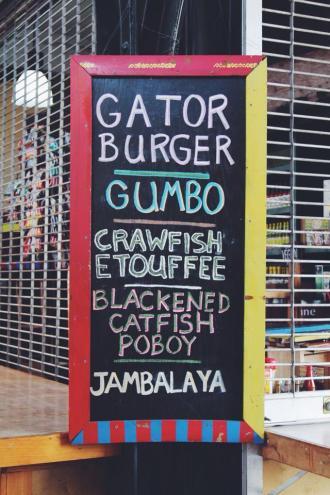 Cajun & creole cuisine