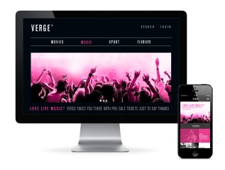 Verge Responsive Website & MobileApp