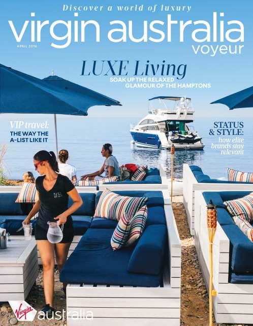 Virgin Australia's Voyeur Magazine   Katherine Cordwell